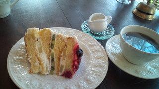 イングリッシュローズ - ランチのデザート