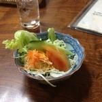 富士美 - オムライスについてきたサラダ