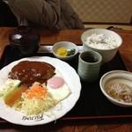 富士美 - ハンバーグ定食