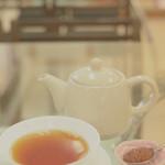 志摩ローズファーム カフェ - 紅茶 バラジャム添え