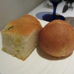 タニーチャ - フォカッチャ、プチパン