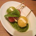 武蔵野食堂  - カプレーゼ(ミニサイズ)