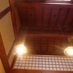 16718711 - 2階カフェ 天井が高いです