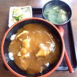 花月庵そば処 - 料理写真:カレー丼