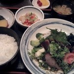 16720776 - かつおたたき定食(1470円)