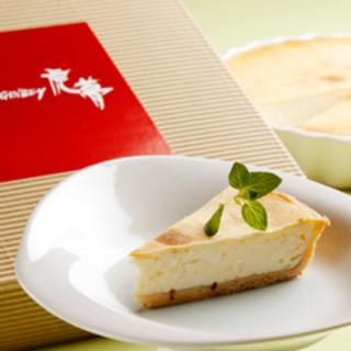 【前日までの予約必須】人気の特製チーズケーキをお土産に
