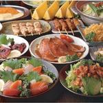 とりとり亭 - お値打ち&ボリューム満点のコース料理は各種宴会に最適