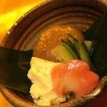 ちゅう兵衛 - 金胡麻豆腐