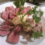 16723727 - 本日のかくれ肉(猪・鹿・鳥のソテー、1,290円)