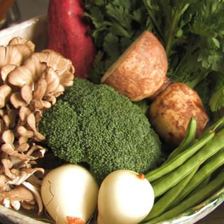 山梨の大地の恵みをいっぱいに浴びた新鮮野菜