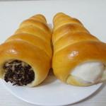 鯉ヶ窪 - 日替わりコロネ(キャラメル&ミルククリーム)
