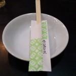 銀座富士アイス - 箸&お皿