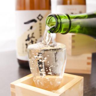 日本酒・焼酎は希少銘柄も取り揃えています