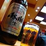 浅草 ときわ食堂 - スーパードライ大瓶¥550