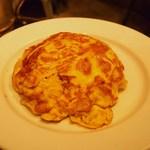 ハモニカキッチン - タクワン玉子焼き