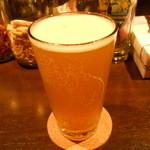地ビールバー まる麦 - 箕面ビール(大阪)の、ゆずホ和イト