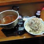 ラーメン富士丸 - 火山(つけ麺)