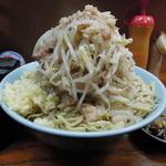 ラーメン富士丸 - 火山(つけ麺)の麺