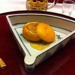 16727887 - 柚子釜、胡麻豆腐