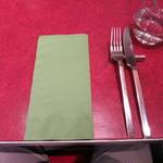 ル・プレヴェール - テーブルセッティング