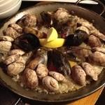 ノースシップ ばる - 貝の旨味パエリア