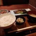 16738439 - 目鯛の西京味噌漬け焼き定食