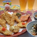 天ぷら ひさご - ペアセット(お二人様で4990円)は、ドリンク、デザート付き!