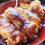 あさひ - ソースカツ丼¥190