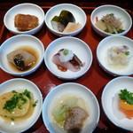 京都ぎをん 八咫 - 冬の豆皿料理