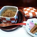 京都ぎをん 八咫 - ちりめん山椒と香の物