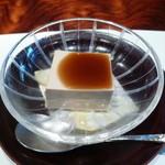 京都ぎをん 八咫 - ほうじ茶のブラマンジェ