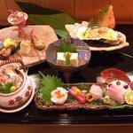 和wa あいみ - 料理写真:会席料理の一例 2