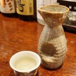 あげづき - 秋鹿(950円)をちびりちびりと。(2012/11)