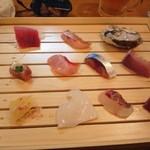 とんかつ武蔵 - 2013/1 お刺身
