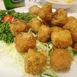 中一素食店 - 鶏肉風の唐揚げ
