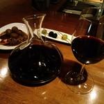 ビンテージ 24  - ハウスワイン、デキャンタ