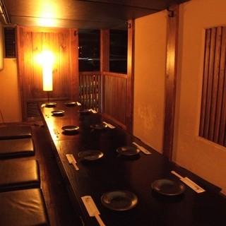 名古屋駅徒歩6分♪落ち着いた雰囲気の隠れ家風個室居酒屋♪