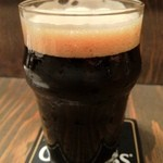 world beer & cafe Qbrick - 伊勢角屋麦酒 浦村カキスタウト(牡蠣を使用したビール!)