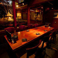 京都木村屋本店 - 一番人気の12名様用庭園の見える個室です!
