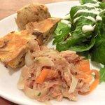 ラ ココリコ - パスタランチ 1000円 の前菜・サラダの盛り合わせ