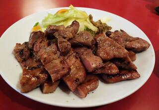 牛たんの一仙 - ランチのたん焼き定食 1.5人前