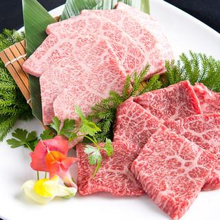 極上肉を味わうコースも各種ご用意