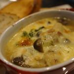 シェリフ - 料理写真:オニオングラタンスープ
