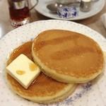 オクムラ珈琲専門店 - ホットケーキセット