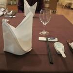 海鳳 - テーブル