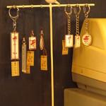 喫茶チロル - レジ横で売られているキーホルダー