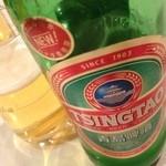 中国料理 上海謝謝 - 青島ビール