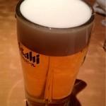 錦珍楼点心舗 - 生ビール(中)¥390