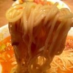 錦珍楼点心舗 - 担担麺の麺UP!