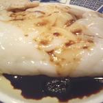 """粥菜坊 - 料理写真:腸粉(ちょうふん)。他の食品にはない""""ぷるんぷるん""""の食感。腸粉がお目当てでご来店するお客がたくさんいらっしゃいます。"""